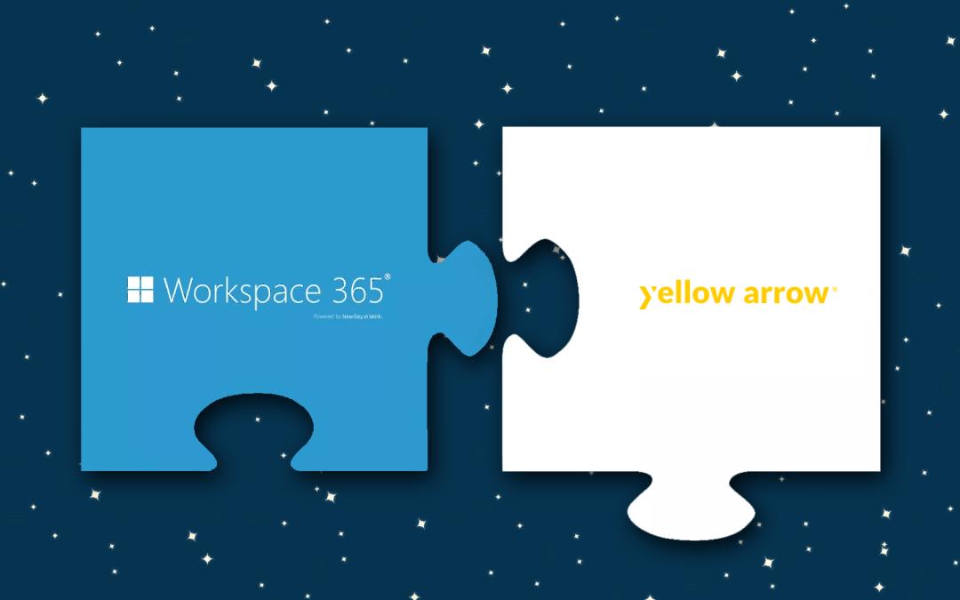 Nieuwe partner: yellow arrow