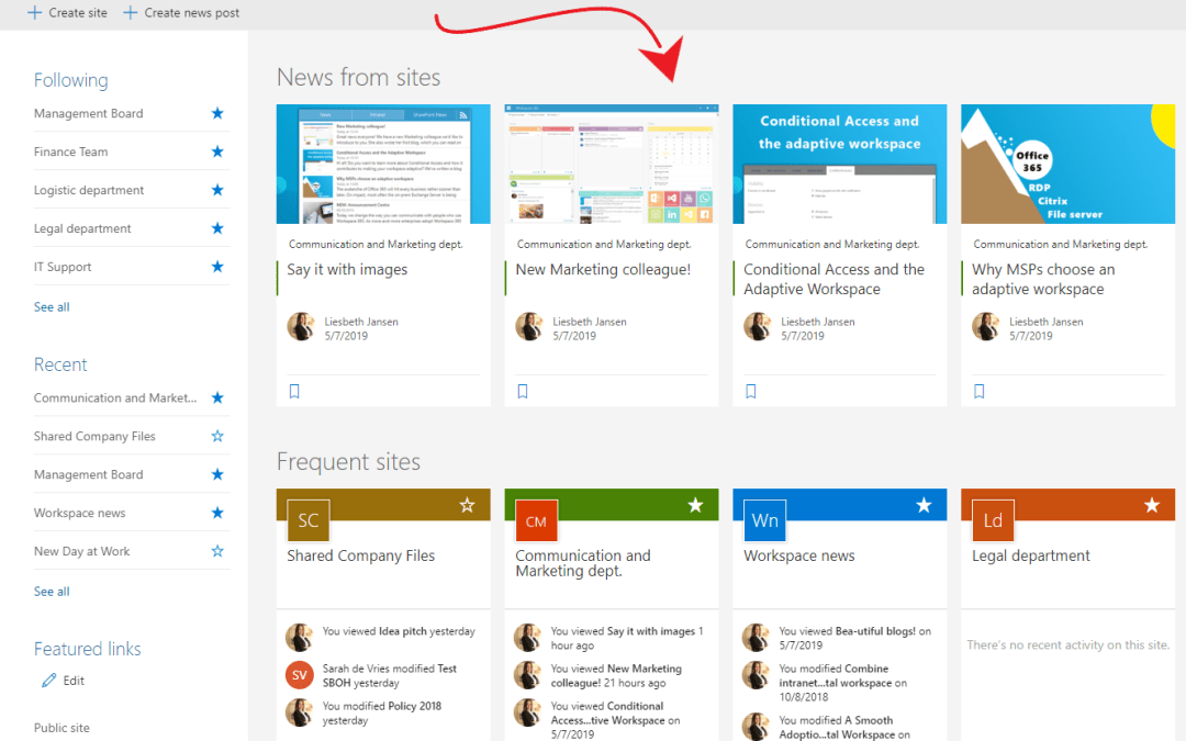 Where to find the SharePoint RSS feed URL in Office 365