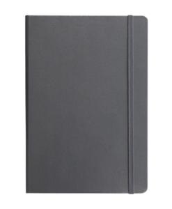 Grå A5 notesbog med linjer fra Leuchtturm1917