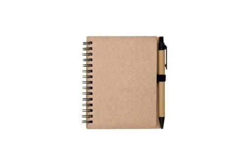 Notesbog i A6 med eget design