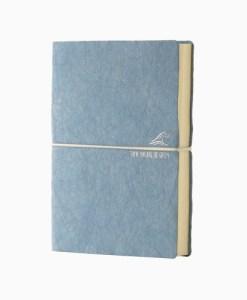 Blå notesbog