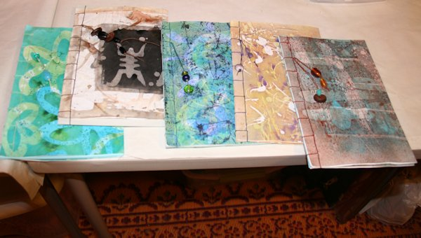 Batik Paper Covers for Handmade Books Workshop by Susi Hall
