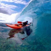 kayaker pe val