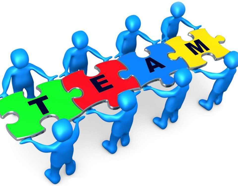 echipa din 8 membri