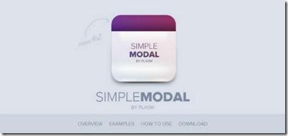 simplemodal