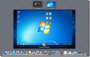 Parallels Desktop 7 in Mission Control