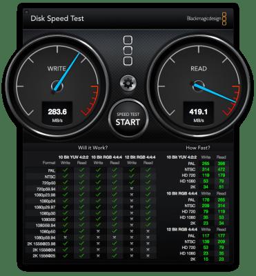 Intel SSD 520 240GBベンチマーク