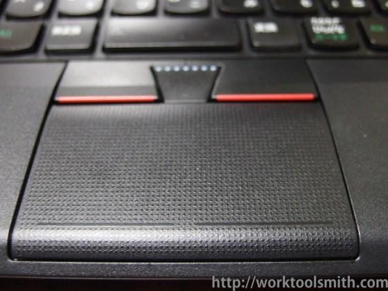 thinkpad-x230 タッチパッド