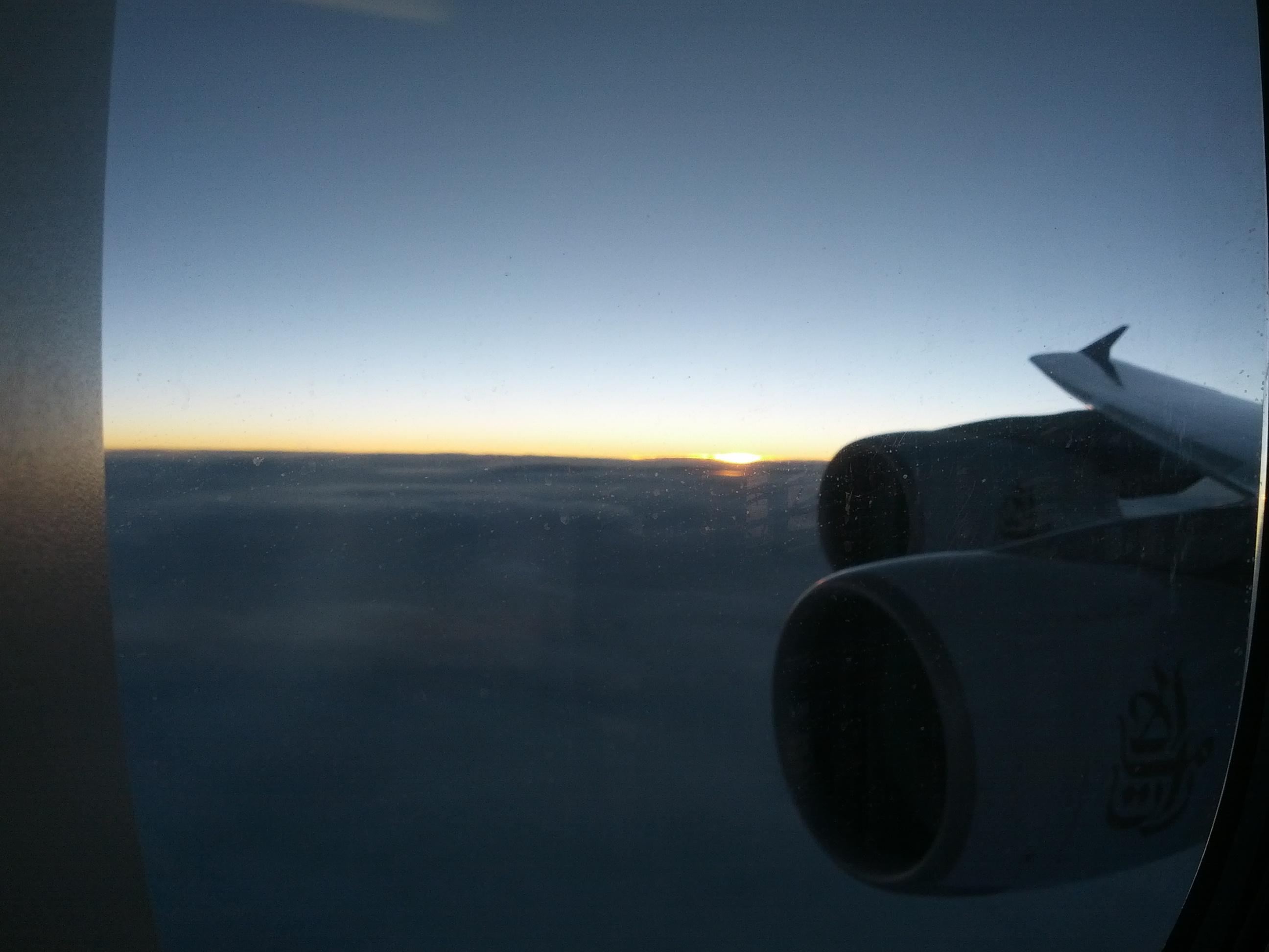 Up in the Air nach Neuseeland