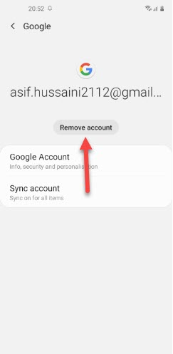 How to Delete Gmail Account Permanently on Android