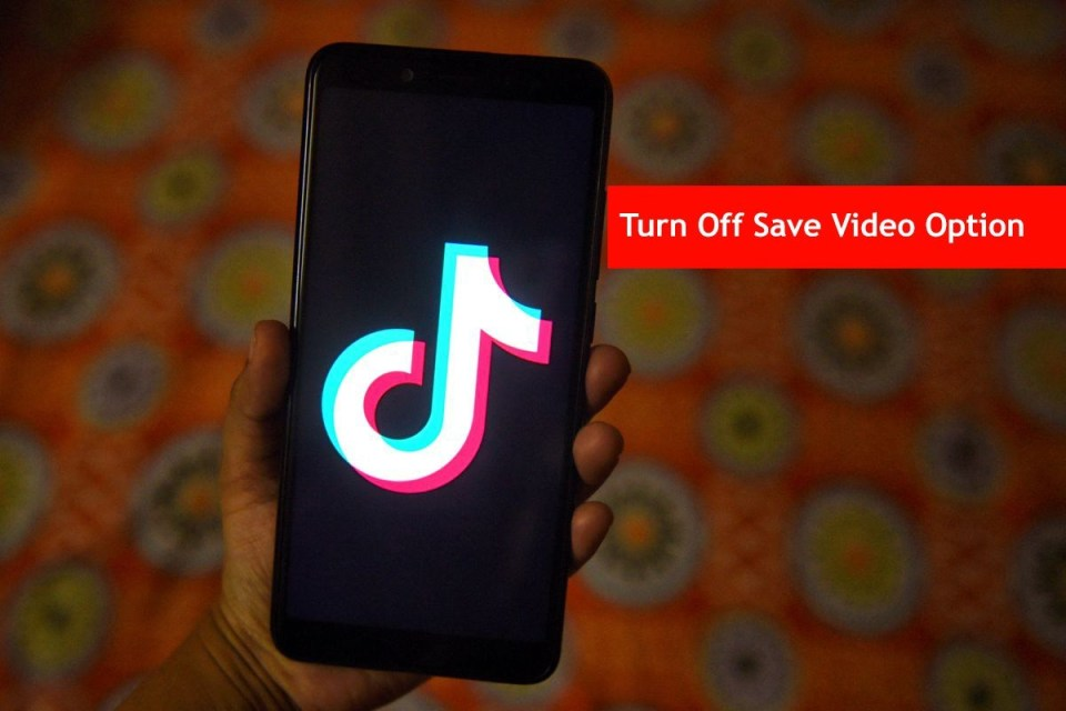 How to Turn off Download Option in Tik Tok