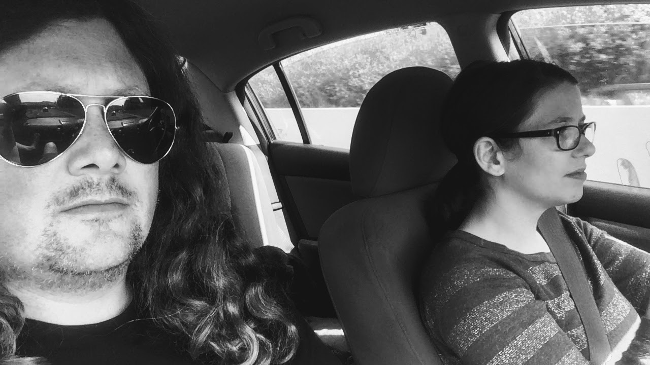katie & finn, naturally on the road