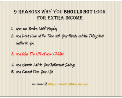 reasons why you should start a home business
