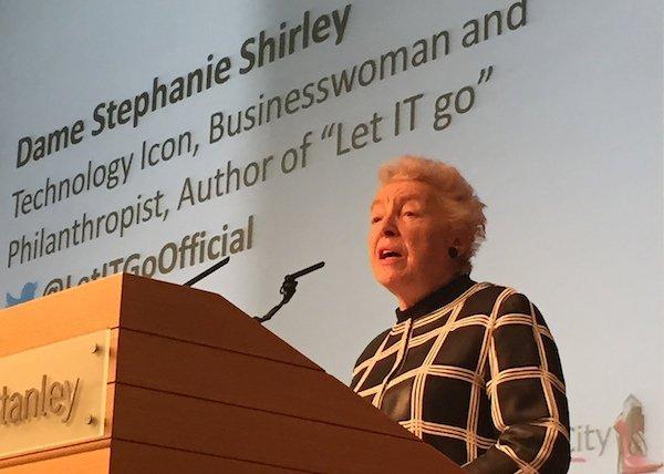 Dame-Stephanie-Shirley-speaking