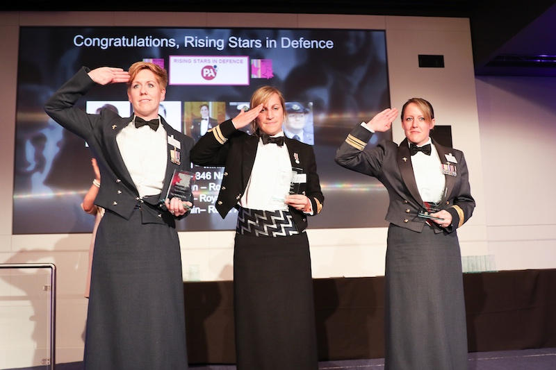 A salute from our Rising Stars in Defence