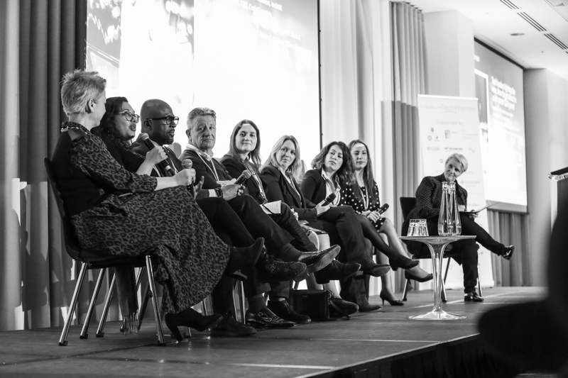 Images from the We Are Tech conference. Etc Venues. 26NOV18