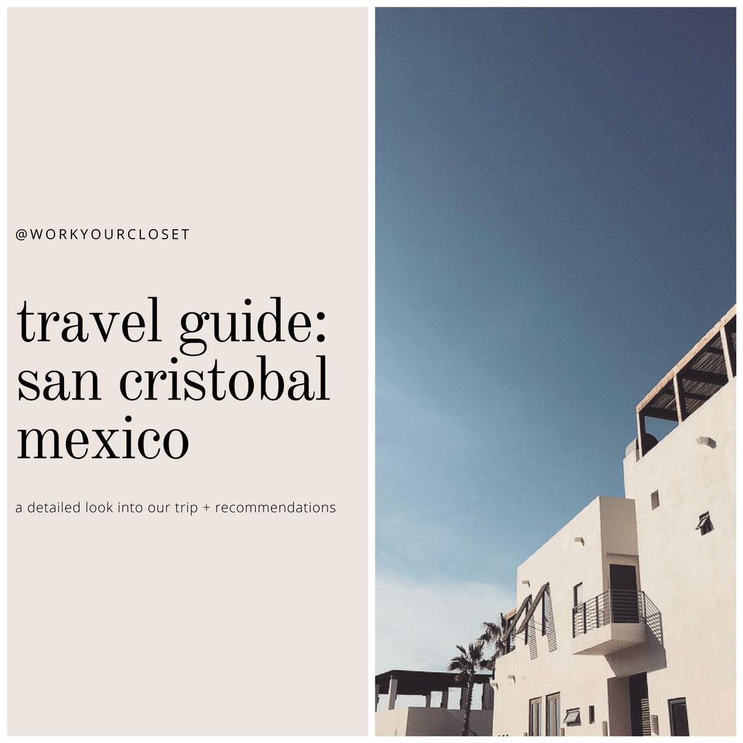 Travel Guide: San Cristóbal Baja Mexico