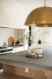 A Grand Brass Dome Island Pendant - Jamie Gernert, Work Your Closet