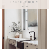 Our Full Laundry Room Reveal