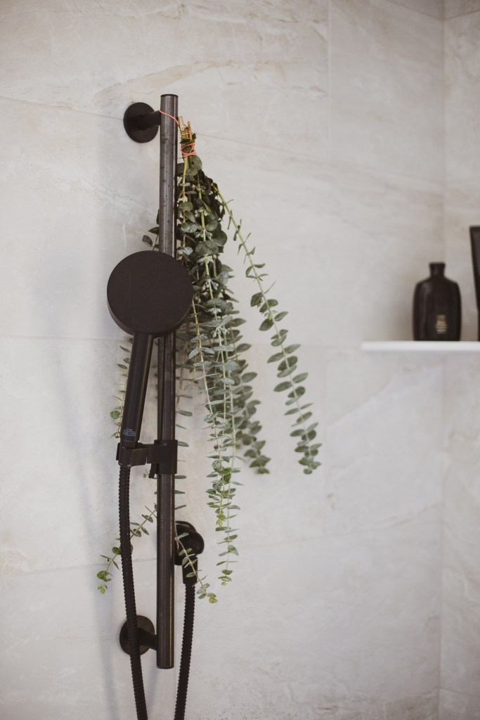 A California Casual Bathroom by Jamie Gernert, Work Your Closet