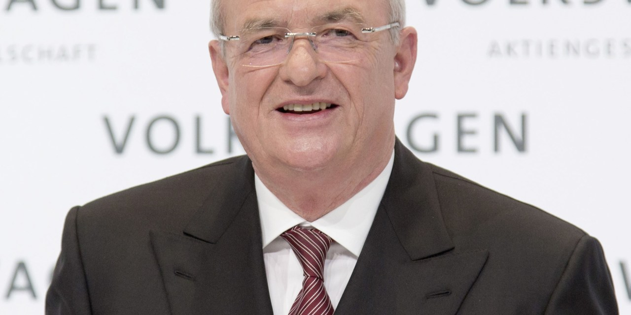 Germany: Volkswagen CEO Martin Winterkorn charged with fraud.