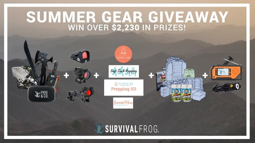 summer gear giveaway 2021