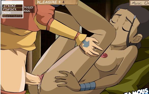 Aang From Avatar Fuck Katara