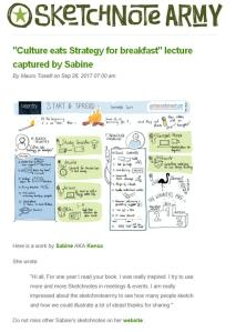 Sketchnotes published by Sketchnotes Army