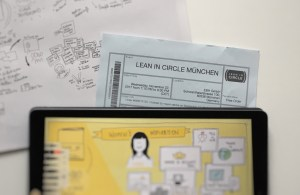Ticket lean in event in munich november 2017