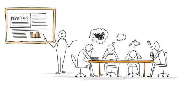 sketch of a meeting
