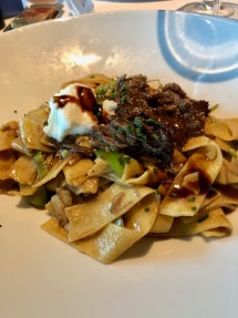 Short ribs and pappardelle