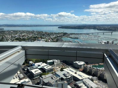Three days in Auckland, view from Sky Tower