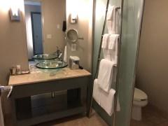 Bathroom at the Loews Minnaepolis Hotel