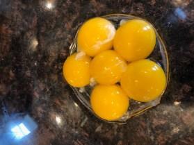 Egg yolks for Sous-Vide Ice Cream Base