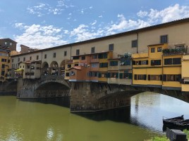 Three Days in Florence:  the Ponte Vecchio