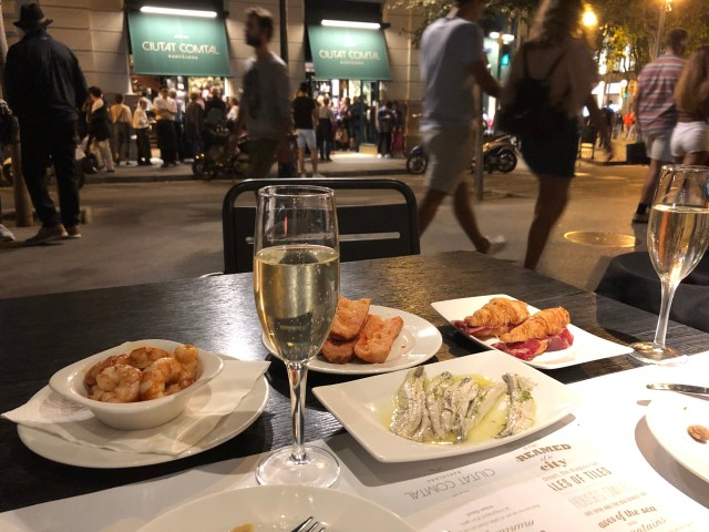 Where to Eat Tapas in Barcelona:  Dining Outside