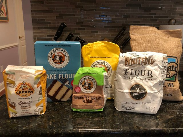 Flour in the Time of Coronavirus:  Different specialty flours