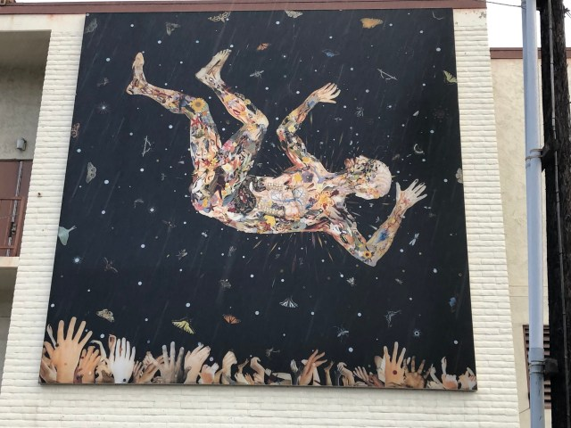 Expecting to Fly (for the Zeros) by Fred Tomaselli