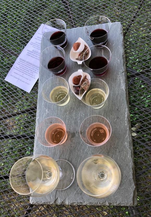 Wine and Chocolate Pairings at Ravines Wine Cellars