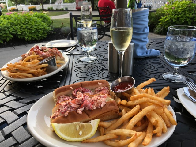 Best Restaurants in the Finger Lakes:  Lobster Rolls at Blue Pointe Grille