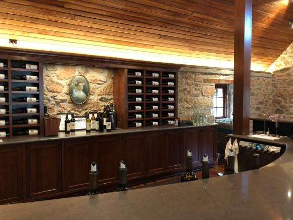 Napa Valley Wine Tour:  Tasting room at Freemark Abbey
