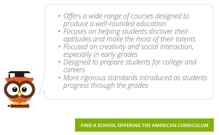 Find American Curriculum