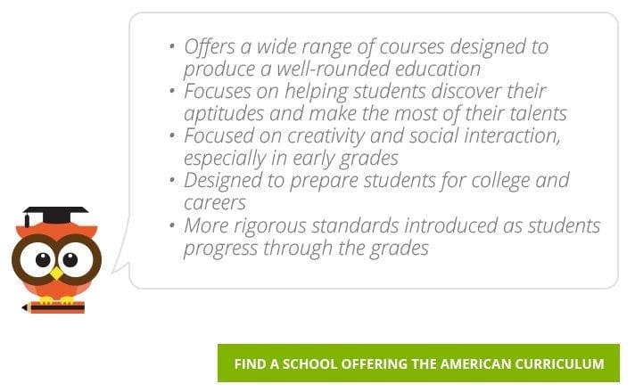 Find American Curriculum