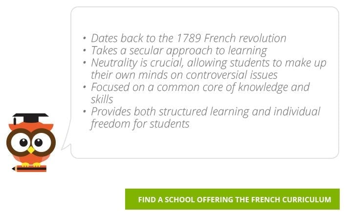 Find French Curriculum