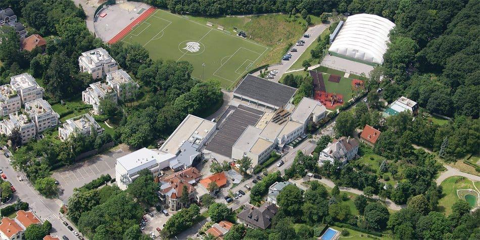 AIS Vienna Campus Aerial