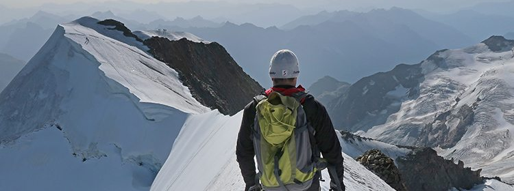 Successful climbing of Piz Palü by students and teachers