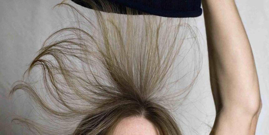 Электризация волос. Как исправить?