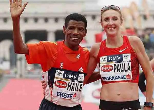 Gebrselassie beats Radcliffe in the Vienna City Marathon challenge