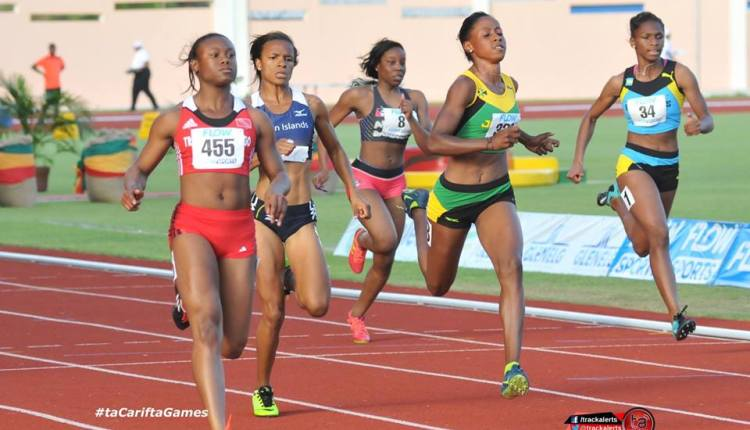 #CariftaGames 2016: Favourites Booked 100m Final Spots