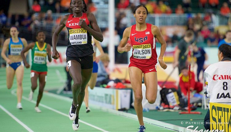 Ajee' Wilson, Drew Hunter To Race At Armory Track Invitational
